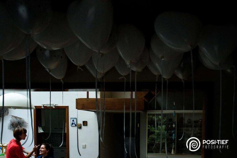 huwelijk balonnen